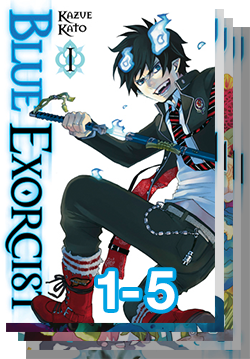 130 Blue Exorcist Stack 1to5