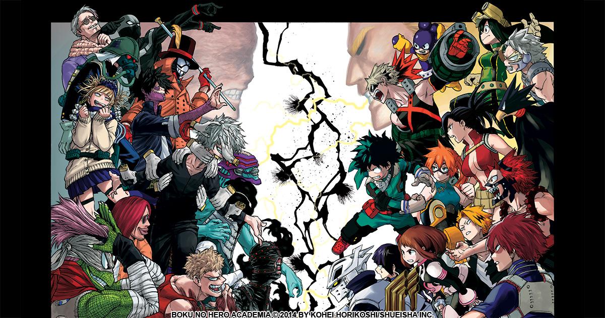 K Anime Character Poll : Viz my hero academia poll