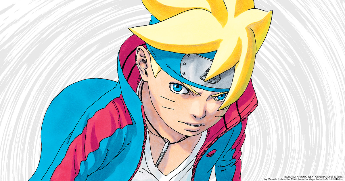 VIZ   Blog / Boruto: Naruto Next Generations