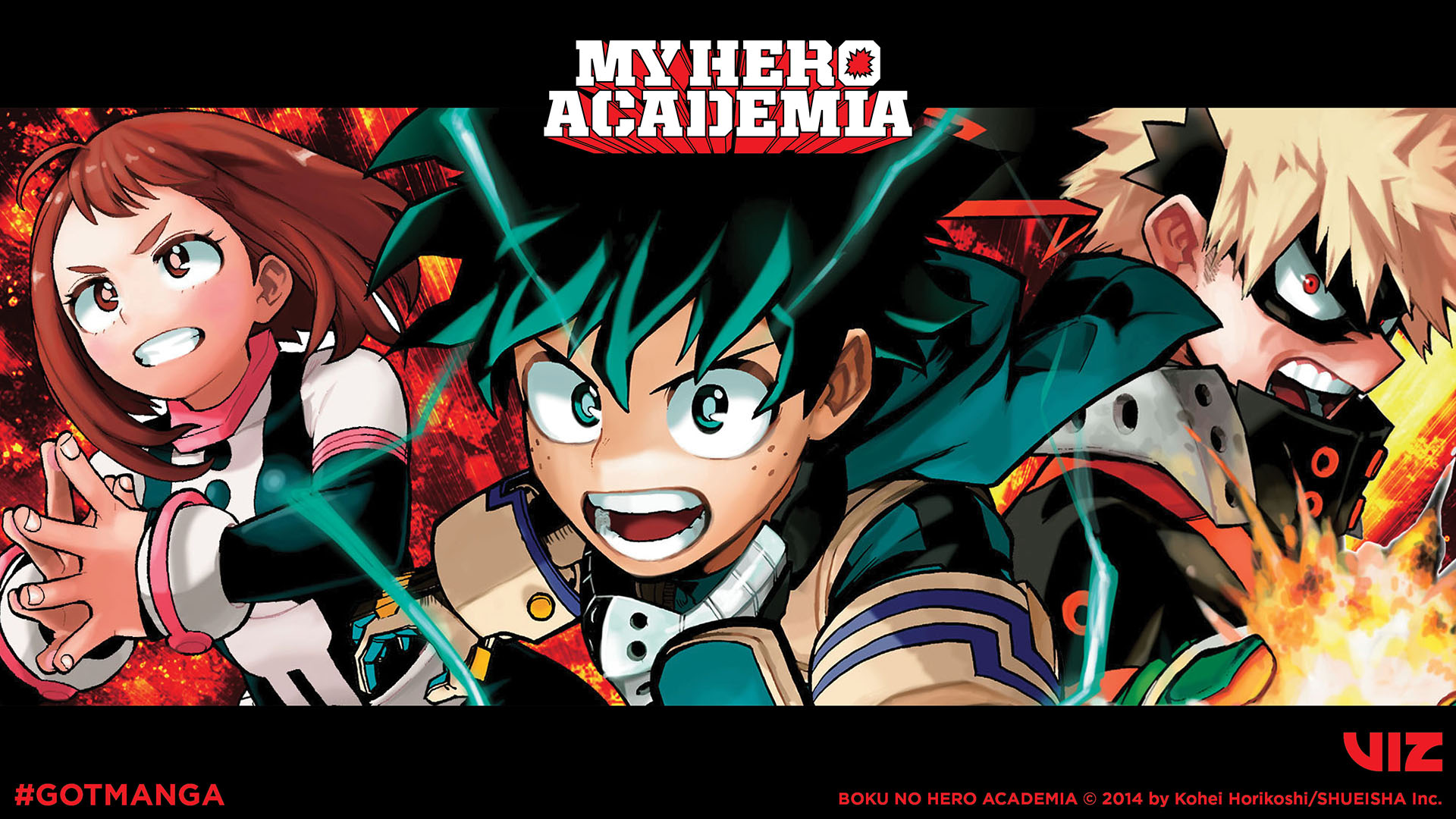 My Hero Academia Desktop Wallpaper B