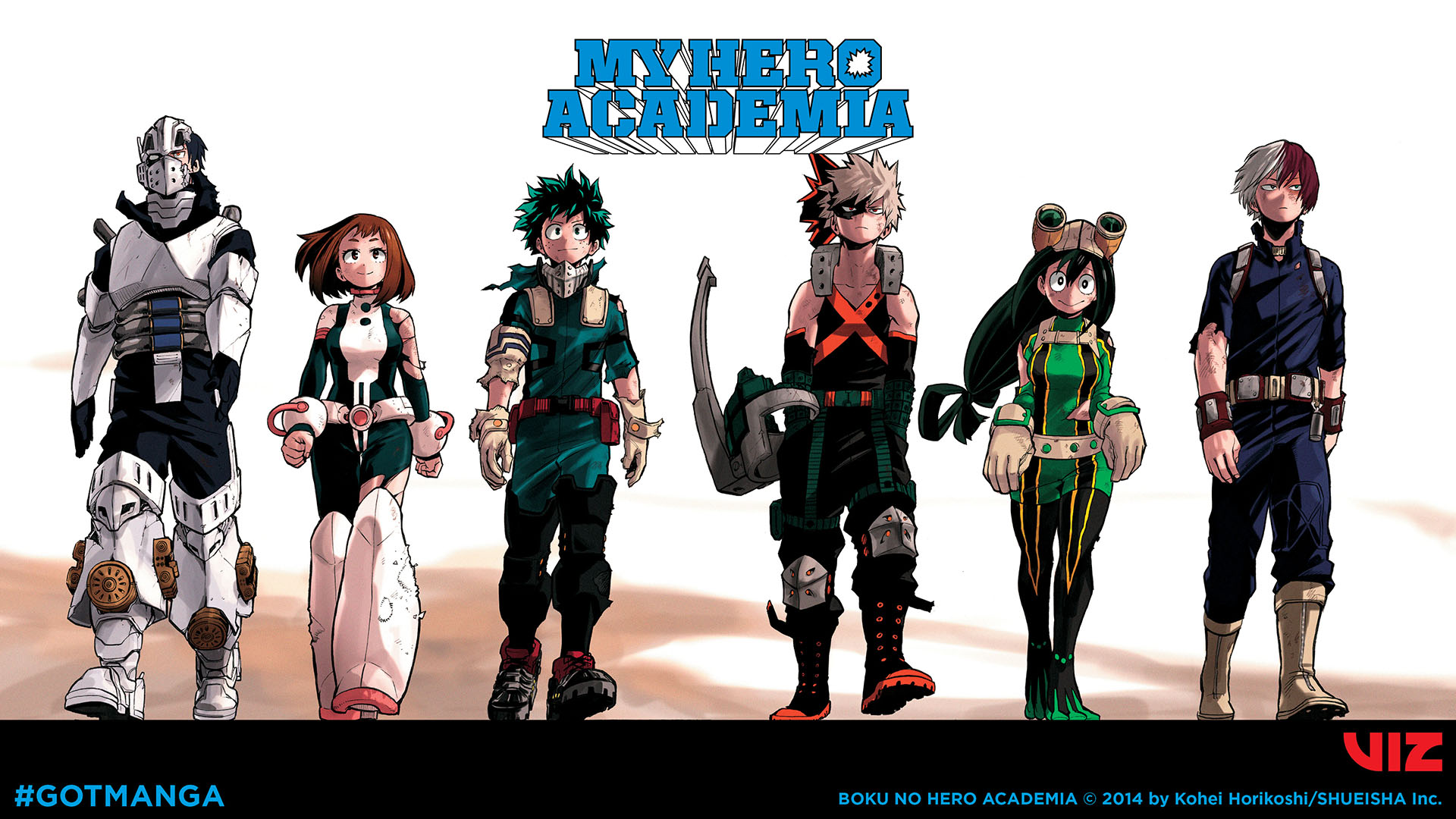 My Hero Academia Desktop Wallpaper C