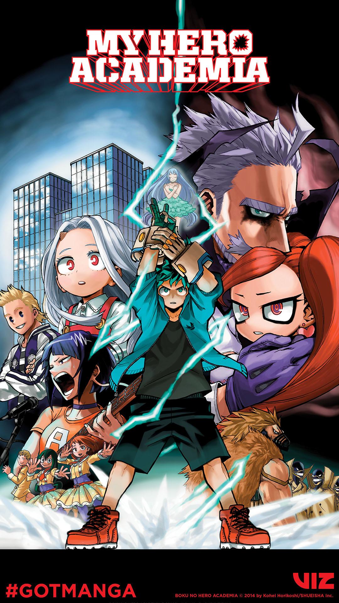 VIZ   Blog / Got Manga? Let's Read My Hero Academia