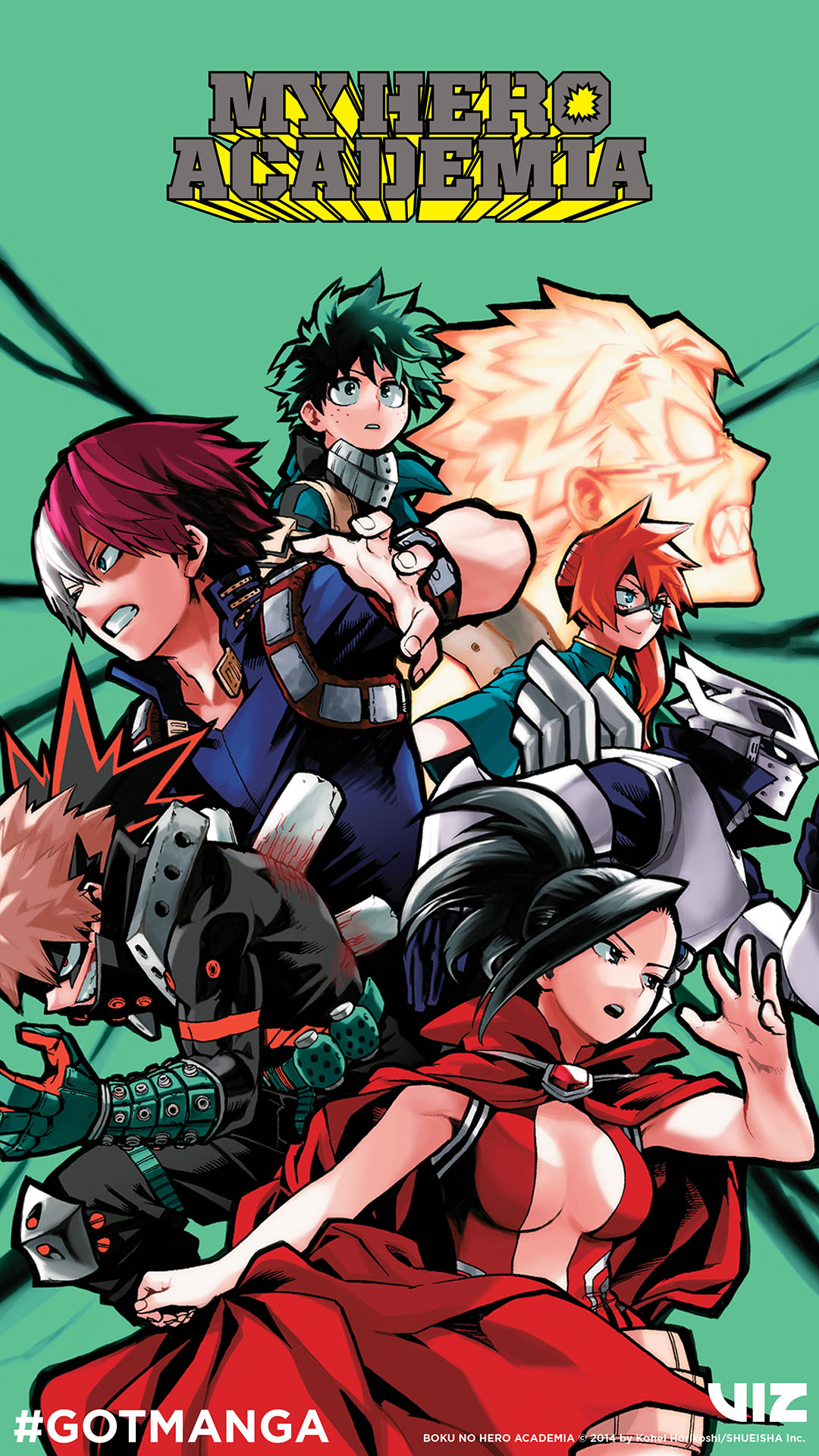 My Hero Academia Mobile Wallpaper C